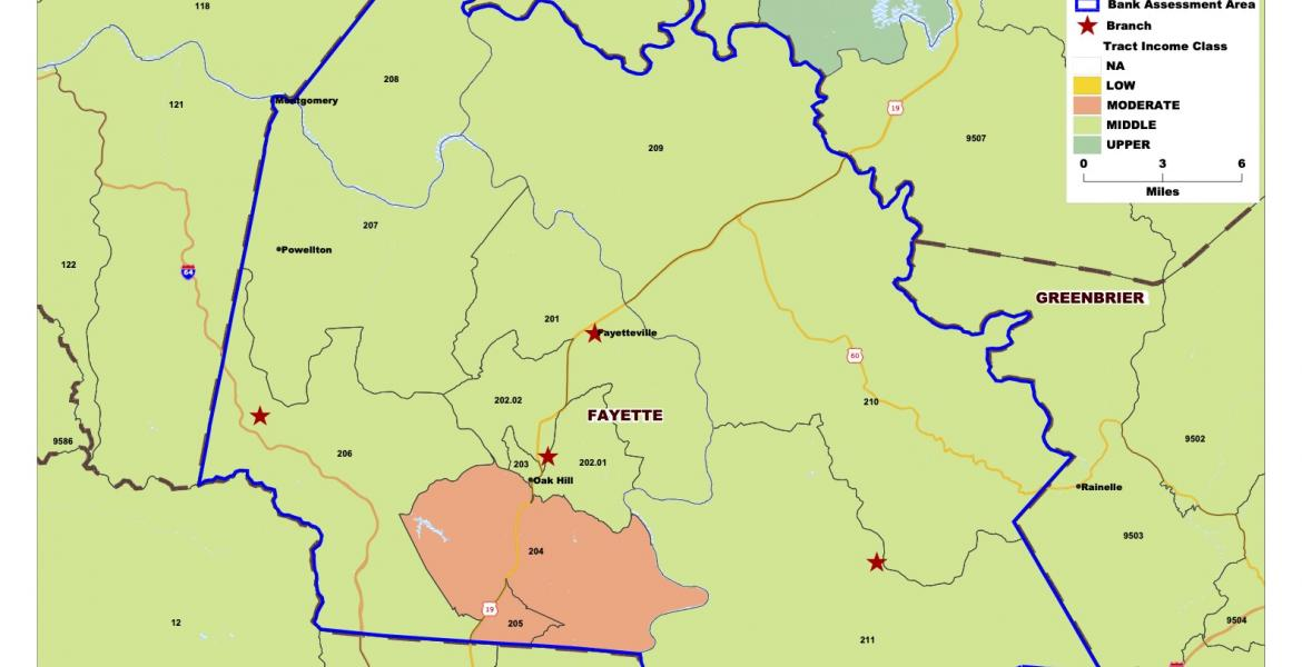 Assessment Area Map